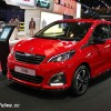 Photo Peugeot 108 Féline Rouge Scarlet - Salon de Paris 2014