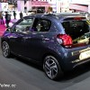 Photo Peugeot 108 Allure Top Bleu Smalt - Salon de Paris 2014