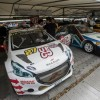 Photo Peugeot 208 RX et 405 T16 Pikes Peak - Goodwood Festival o