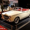 Photo 3/4 avant Peugeot 403 Cabriolet Grand Luxe (1960) - Salon