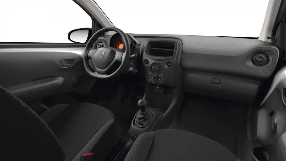 Int rieur tissu curitiba peugeot 108 i photos peugeot for Interieur peugeot 108