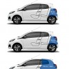 Volumes de coffre Peugeot 108