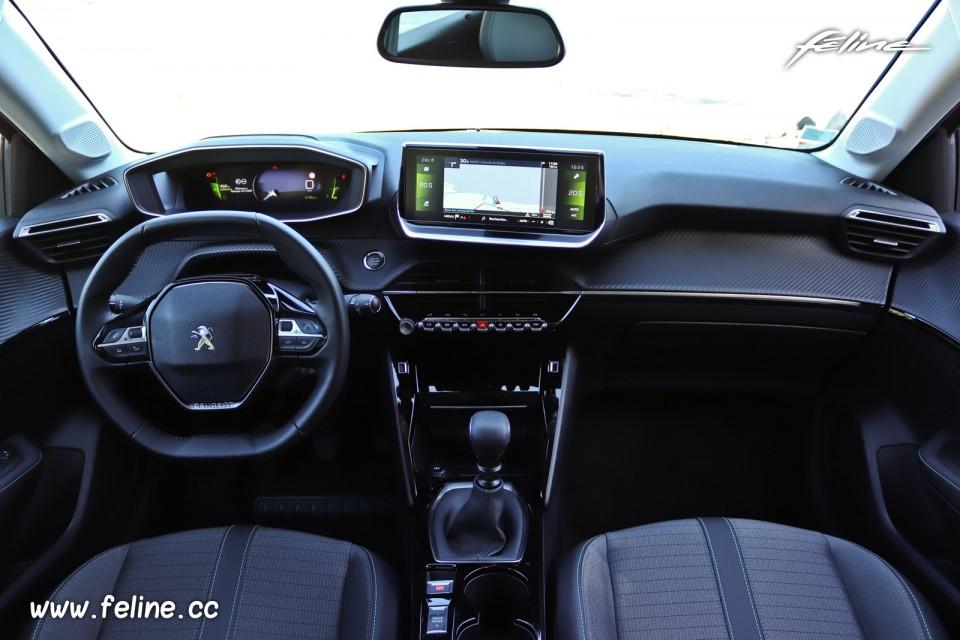 Photo Tableau De Bord Nouvelle Peugeot 208 Ii Allure 2019 Photos Peugeot Feline