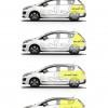 Volumes de coffre Peugeot 3008