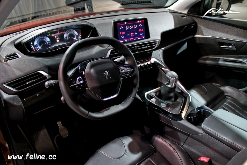 photo int rieur i cockpit peugeot 3008 ii pr sentation. Black Bedroom Furniture Sets. Home Design Ideas