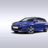 Photo Peugeot 308 SW GT Line Bleu Magnetic