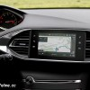 Photo navigation GPS écran tactile NAC essai Peugeot 308 II res