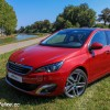 Photo 3/4 avant Peugeot 308 II Féline Rouge Rubi 1.6 THP 155 -1-001