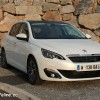 Photo 3/4 avant Peugeot 308 II Allure Blanc Nacré -1-039
