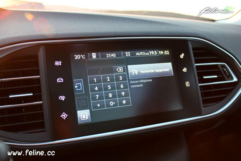 Photo t l phone bluetooth kit mains libres cran tactile for Photo ecran 308
