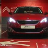 Photo face avant parking Peugeot 308 II Allure Rouge Rubi - 1.6 THP 125 ch BVM6 - 3-001