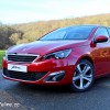 Photo 3/4 avant statique Peugeot 308 II Allure Rouge Rubi - 1.6 THP 125 ch BVM6 - 3-034