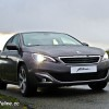 Photo 3/4 avant Peugeot 308 II Allure Gris Moka - 1.2 e-THP 130