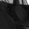 Intérieur Tissu Chaîne & Trame Metax Noir Mistral avec supiqûres Peugeot 308