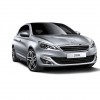 Photo officielle Peugeot 308 II Gris Aluminium (fond blanc) - 1-001