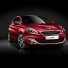 Photo officielle Peugeot 308 II Rouge Rubi (fond noir) - 1-006