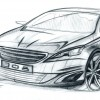 Photo croquis Peugeot 308 II - 2-129
