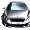 Photo sketch face avant Peugeot 308 II - 2-134