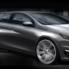 Photo sketch dynamique Peugeot 308 II - 2-136