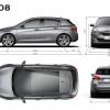Dimensions Peugeot 308