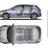 Dimensions intérieures Peugeot 308 GT Line