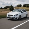 Photo officielle Peugeot 308 II Allure Blanc Nacré