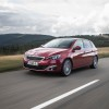 Photo 3/4 avant Peugeot 308 II Féline Rouge Rubi