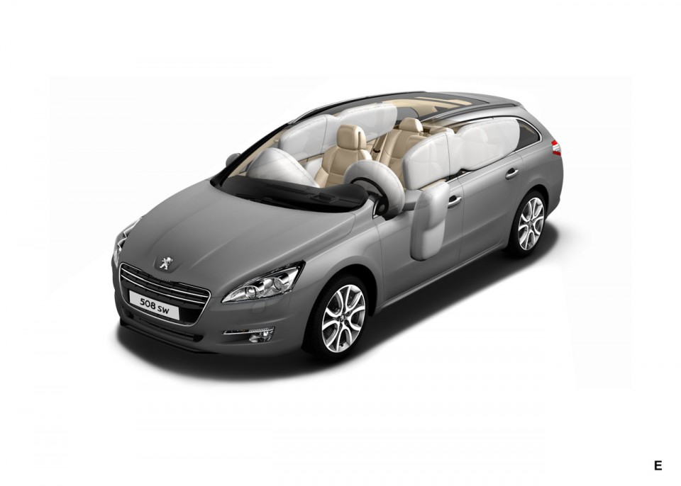 photo airbags peugeot 508 sw i 1 024 photos peugeot f line. Black Bedroom Furniture Sets. Home Design Ideas