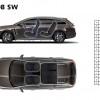 Dimensions intérieures Peugeot 508 SW