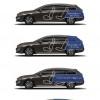 Volumes de coffre Peugeot 508 SW