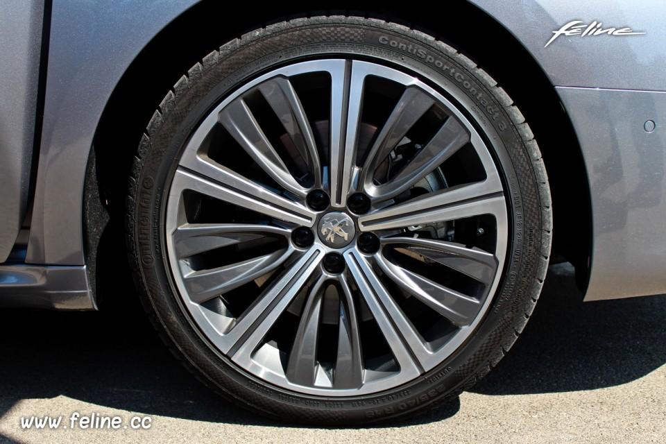 taille pneu 508 gt