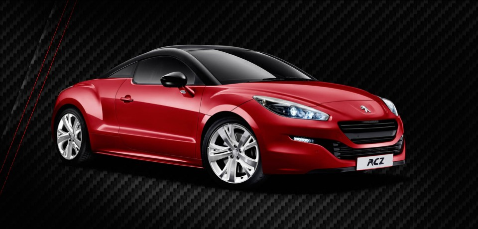 photo peugeot rcz red carbon rouge erythr e limited. Black Bedroom Furniture Sets. Home Design Ideas