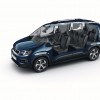 Photo version courte 7 places (fond blanc) Peugeot Rifter (2018)