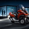 Photo officielle Peugeot Metropolis Rouge Safran - 1-002