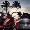 Photo officielle Peugeot Metropolis Rouge Safran et Titane Brillant - 1-013