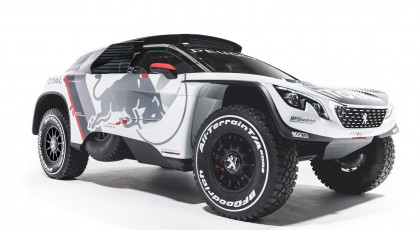 Photos Peugeot 3008 DKR (Dakar)